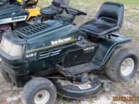 Yard Machine Riding Lawn Mower 16.5 h.p. motor - $