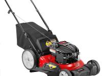 The powerful Briggs and Stratton engine delivers solid,
