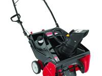 The Yard Machines 21 in. single-stage gas snow blower