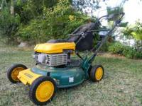 5.5 HP yardman self propelled mower hardley used and