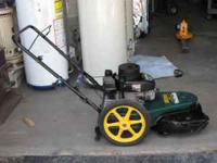 "Yard-Man Gas Powered, 22"" String Trimmer Mower, 5 hp"