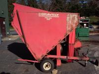 Gravely Pro Vac 1050 (no PTO required) pull behind in