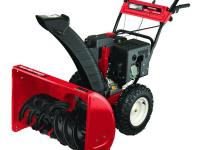 The Yard Machines 30 in. two-stage snow blower features