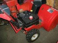 I have 2 indentical Yardmachine snowblowers for sale.