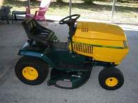 "42"" rider automatic 18 hp briggs new battery nice"