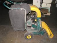 1-USED YARDMAN HP-5.5 MAKE-TECUMSEH SELF PROPELLED