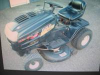 "yardman lt 14/42 lawn tractor. 14hp briggs,42"" deck"