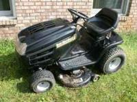 mower runs good new battery put on this spring The