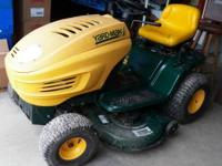 Yardman Riding Lawn Mower Only used a few times. One of