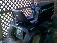 Tractor is in great condition, very well cared for.