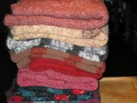 Sweaters for yarn....these were made by my grand mother