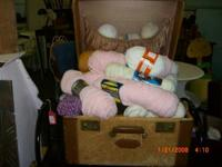 Bunches of shades! Whole lots of Yarn! $ 1.00 Each. ***