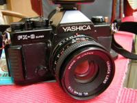 Yashica FX-3 35mm SLR camera. In working condition