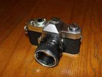 Up for sale is a Yashica TL Super 35mm SLR from the