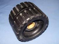 YATES #343R Boat Trailer Rubber Support Roller 4.25""