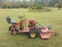 "I have a Yazoo Zero Turn Mower with a 48"" deck. It has"
