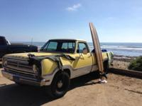 Unfortunately I have to offer my 1972 Dodge D100