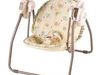 I have a yellow open top take along baby swing that can