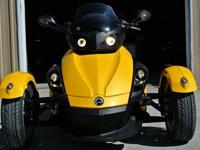 Yellow Can-Am SPYDER It is in excellent condition, has