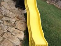 Hello, today we have for sale a Yellow Cool Wave Slide