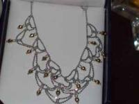 Tiffany Style Princess necklace--great for prom or that