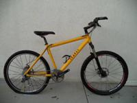 Selling this Yellow Leader bike. Has good accessories
