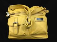 We have this yellow Relic Alex Organizer handbag for
