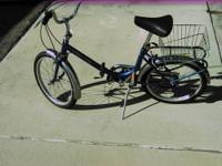 I am selling my yellow recumbent bicycle (as pictured)