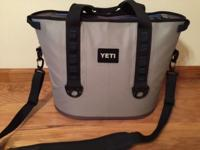 You are looking at a Yeti Hoper 30 soft side cooler.