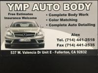 WE ARE A COLLISION REPAIR SHOP IN THE CITY OF