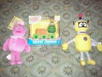 I am selling yo gabba gabba bday supplies for $25. I