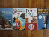 Health related VHS Videos $2 each: Esalen Massage, Wai
