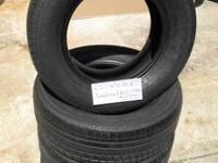 SET OF 4 USED TIRE Yokohama Avid TRZ 2356516  	FOR MORE