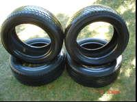 I HAVE A SET OF 4 TIRES FOR SALE!!!! YOKOHAMA YK580,