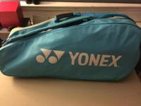 Baby blue Yonex badminton bag - $30 bag only 3