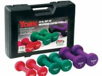 York Neoprene Fitbell Set 20LBS set CASH or Paypal