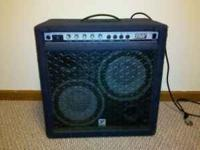 Yorkville Bass Master 200t Bass Amp with 2 10""