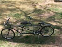 Yotoda Tandem Double Peaks Bike, 1993, utilized, new