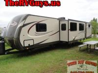 This is one way cool bumper pull bunk house travel