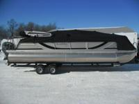 Stock # 5750 2013 South Bay Pontoon. Up for auction!!!!