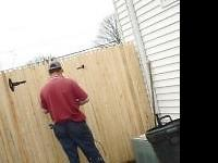 Wood fence is most popular follow with vinyl fence for