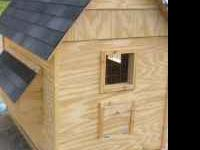 I am making chicken coops. My coops are made with