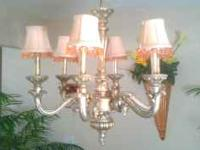 Chandelier - asking $ 80.00 or best offer paid $ 250.00