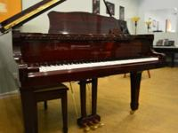 "1987 6'1"" Korean made Youthful Chang Grand Piano in"