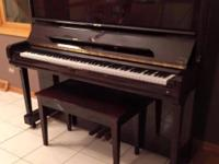 "Young Chang 48"" Upright Brown Mahogany Piano $3,200 -"