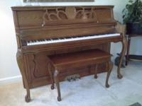 Purchased new in October of 1999 this beautiful piano