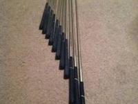 I have for sale a set of younger males golf clubs, has