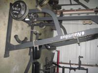 AN ENTIRE GYM- NAUTILUS RACK,NAUTILUS BENCH,PREACHER