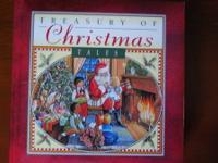 Beautiful TREASURY OF CHRISTMAS TALES children's book