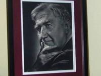 Gravure Print Of Ralph Vaughan Williams By Yousuf